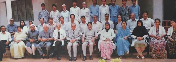 DCMS Staff 1992