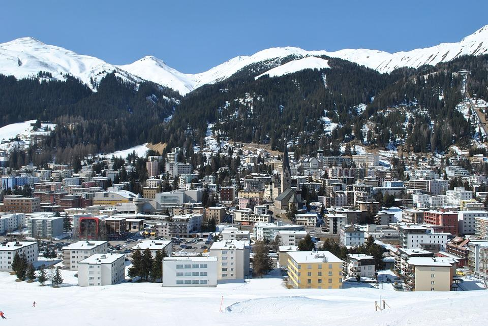 Bruneau, Michel II, et la grand-messe de Davos