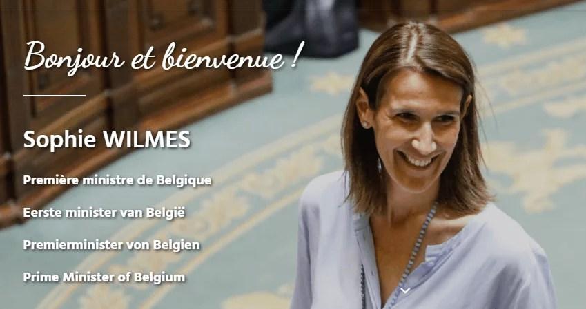 Sophie Wilmès: la première ministre sans gouvernement, inconnue en Flandre