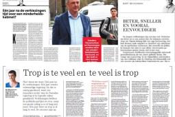 Les éditorialistes analysent la situation politique belge un an après les élections