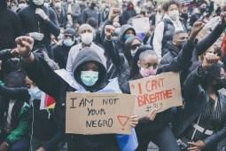 Manifestation racisme Bruxelles Black lives matter