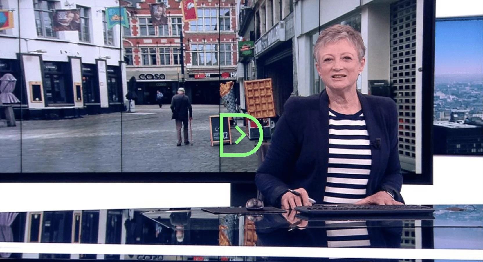 Martine Tanghe, l'icône du journal télévisé de la VRT, prend sa retraite après 42 ans de carrière