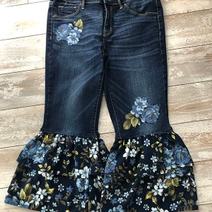 Recycled fashion jeans. ResQ design Size 10-12
