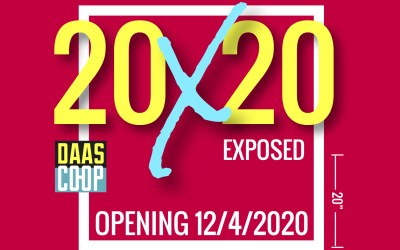 20X20 Exposed, The Last Invitational Exhibition of 2020
