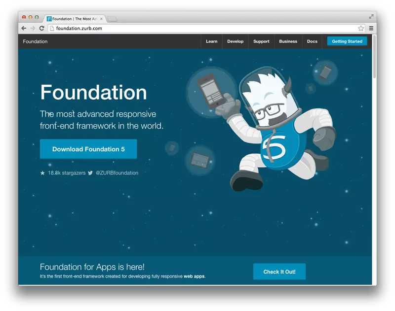 Front-end framework 2: ZURB Foundation