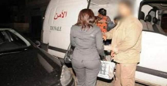 نتيجة بحث الصور عن اعتقال نصابة بطنجة