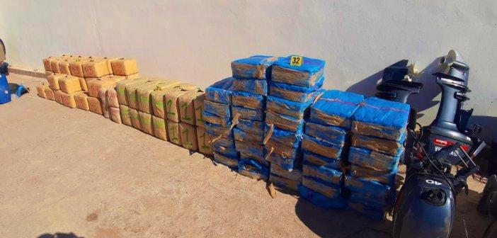 أكادير.. إجهاض عملية لتهريب المخدرات على الصعيد الدولي وحجز ما مجموعه طنين و230 كلغ  من الحشيش