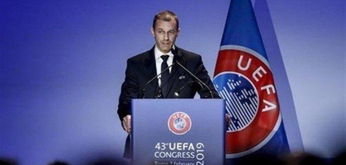 """""""ويفا"""" يتبنى نظاما جديدا لدوري الأبطال ويؤجل قرار البت بالمدن المضيفة لكأس أوروبا"""