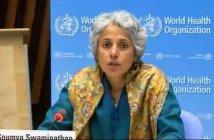 كبيرة العلماء في منظمة الصحة العالمية، سوميا سواميناثان،