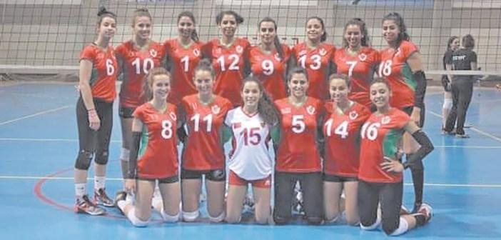 المنتخب المغربي لكرة الطائرة سيدات
