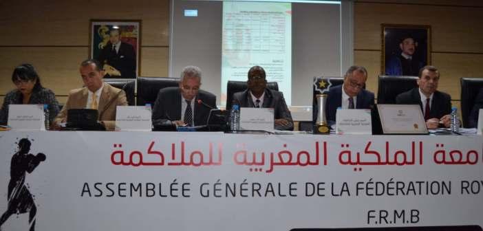 إعادة انتخاب عبد الجواد بلحاج رئيسا لجامعة الملاكمة لولاية جديدة