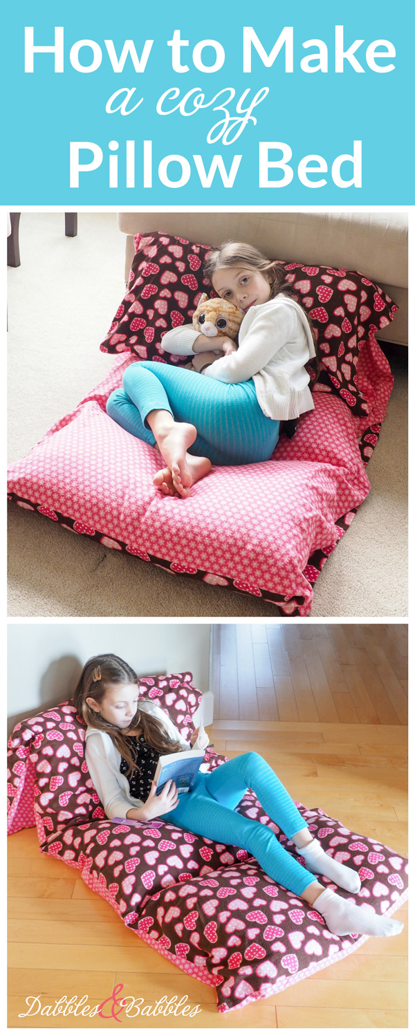 Learn How To Make A Cozy Pillow Bed With This Quick And Easy Photo Tutorial