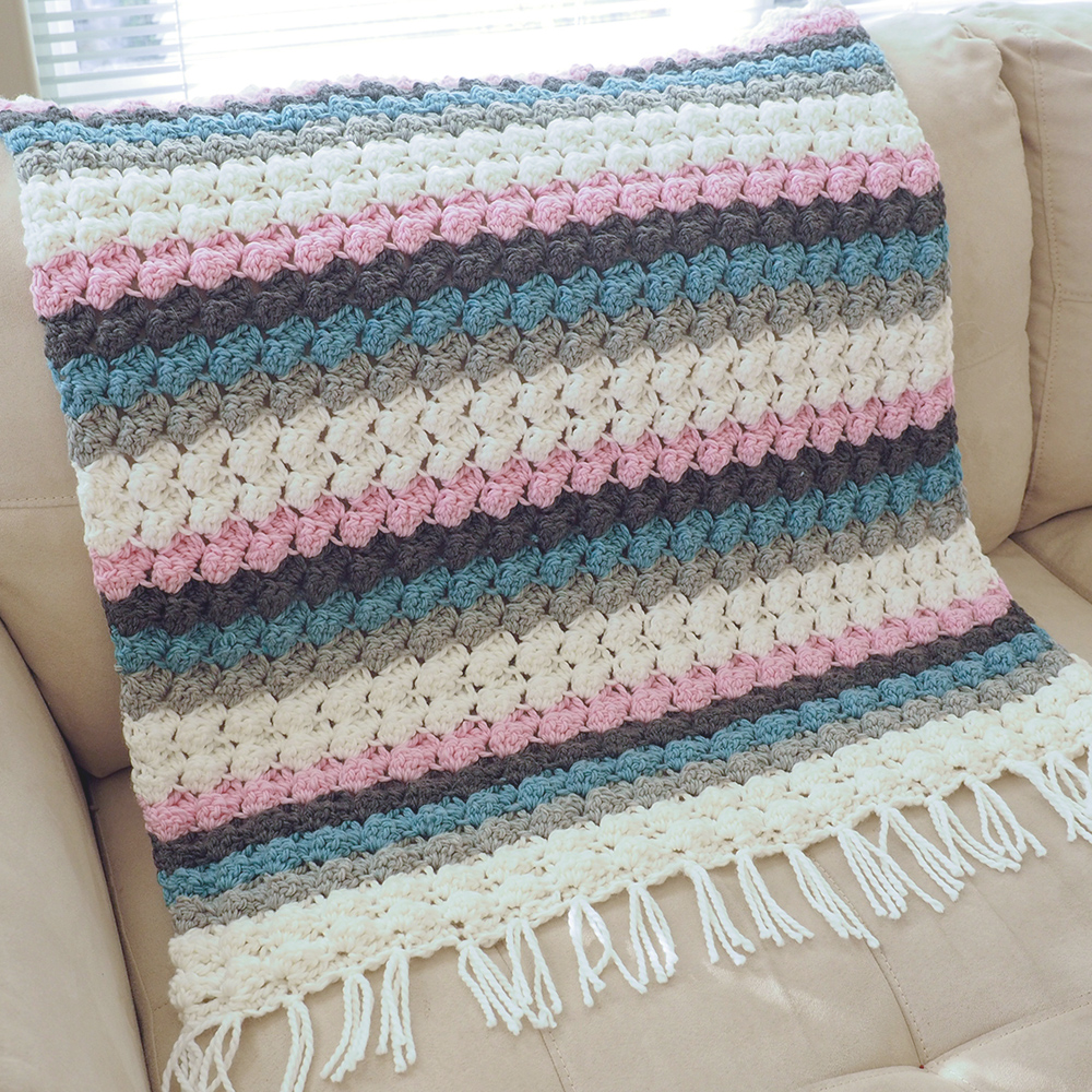 Free Crochet Pattern – Baby Bumps Crochet Blanket Pattern