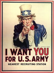Provided the inspiration for the Uncle Sam poster. (Wikipedia, 2016).