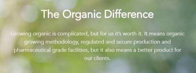 The OrganiGram Organic Statement
