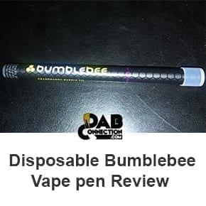 In-depth Bumblebee vape pen review