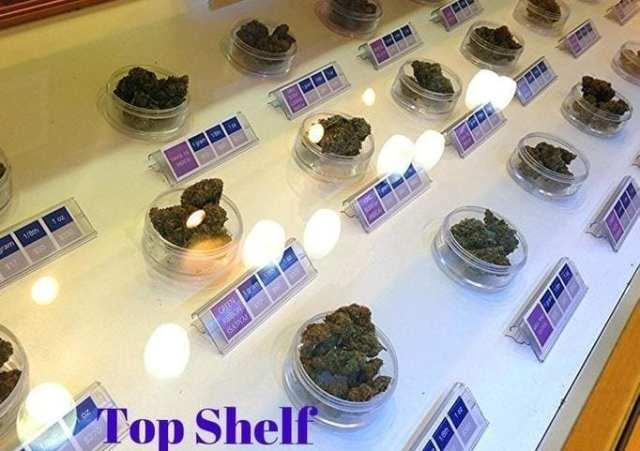 Exhale Med Center's Top Shelf Flower
