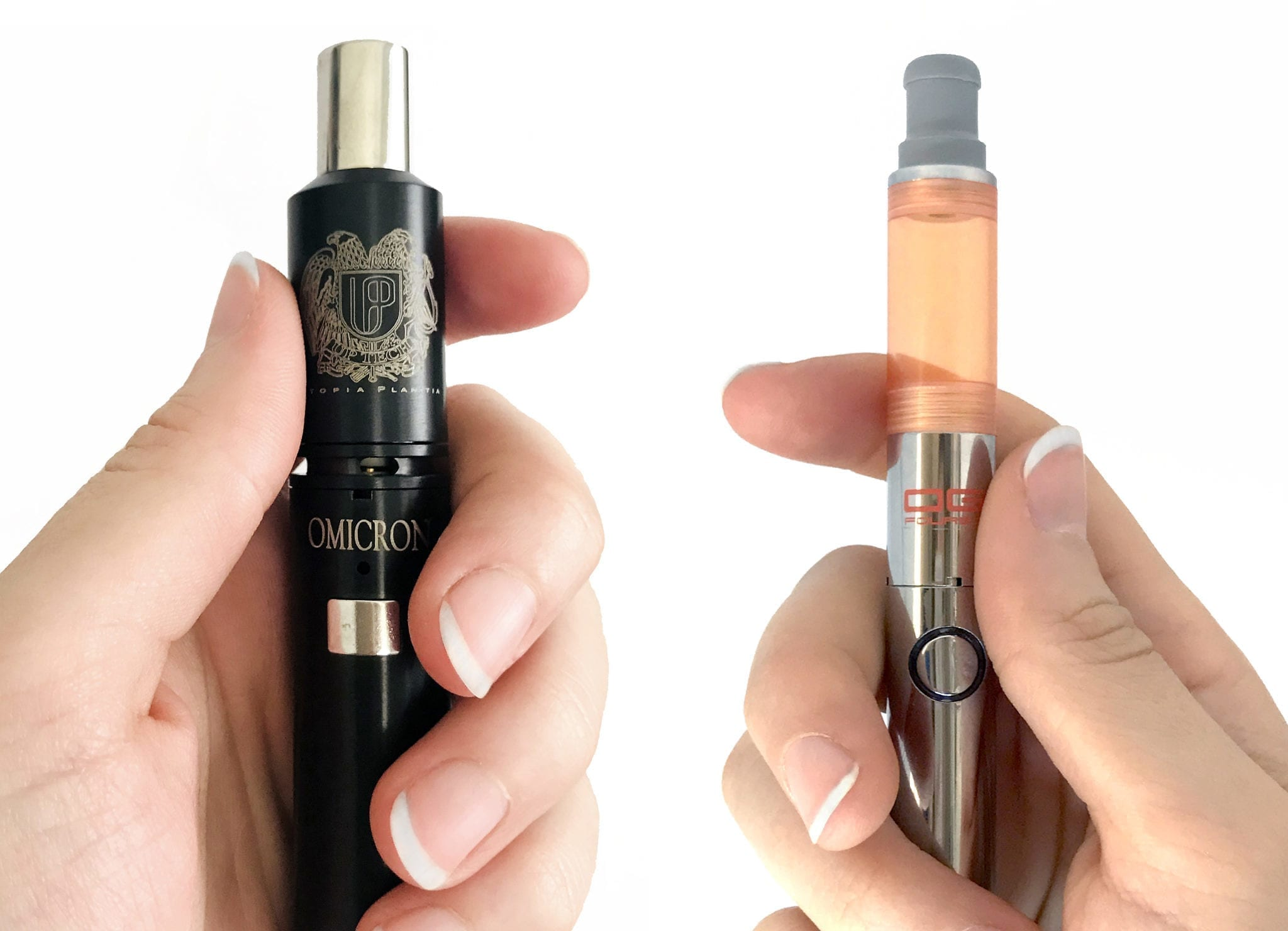 Delta9 Omicron Lite Vaporizer - Black Kiss Cartridge