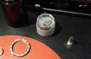 Glue found in Kandypens atomizers