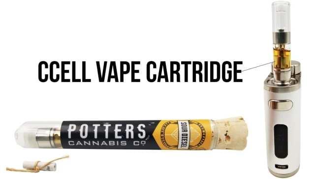 potters vape cartridge