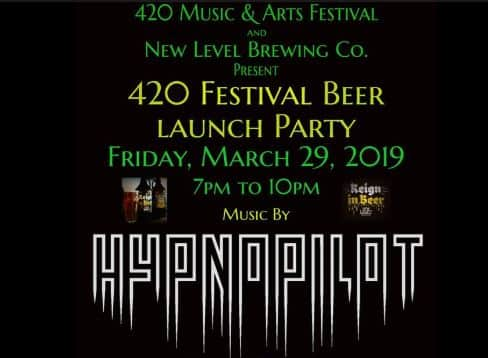 420 music arts festival beer party hypnopilot calgary