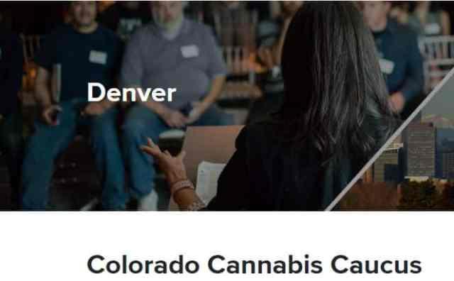 Colorado Cannabis Caucus federal policy work denver