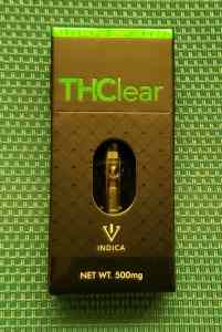 THClear King Louie XIII Indica Cartridge