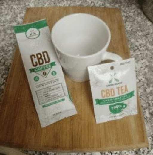CBD Tea and Coffee