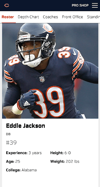 new product a0dfd df93a Da Bears Blog | How Old Is Eddie Jackson: A Deep Dive Into ...