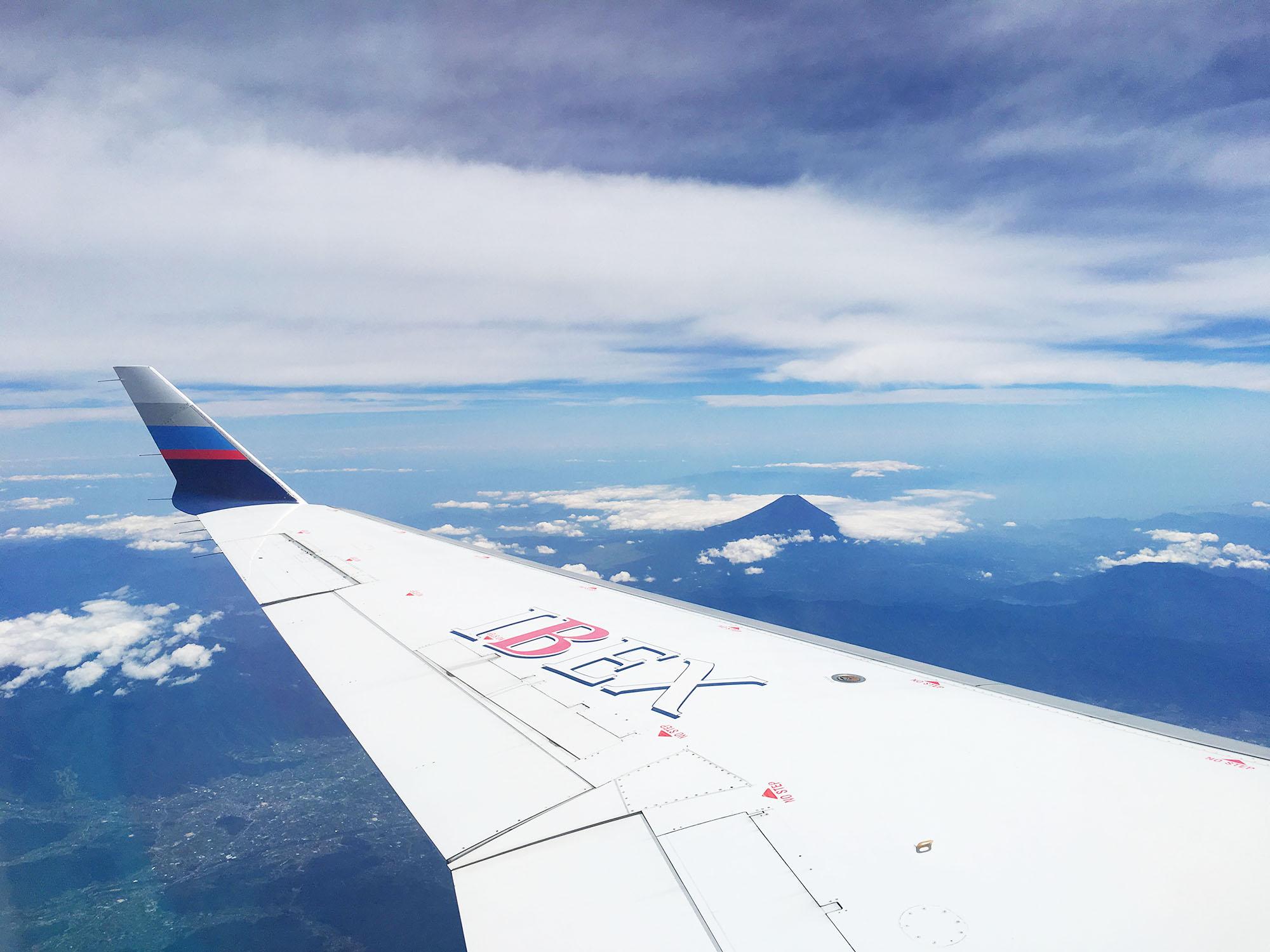 福島 飛行機