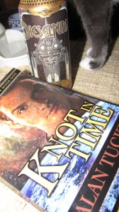 Book, beer, cat - I'm good to go.