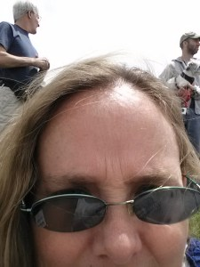 My first (and accidental) selfie at the Albuquerque Renaissance Fest.