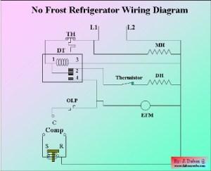 No Frost Refrigerator Wiring Diagram