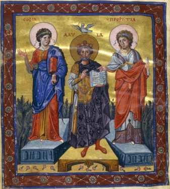 David between Wisdom and Prophecy