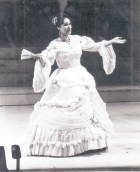 Adelaida Negri en La Traviata de 1994 Teatro Argentino de La Plata