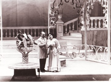 Luis Gaeta y Adelaida Negri, La Traviata, 1994 Teatro Argentino de La Plata