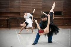 Ensayo Ballet El cascanueces producción 2013 del Teatro Argentino de La Plata