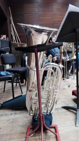 Fotos de ensayo orquesta estable Teatro Argentino de La Plata
