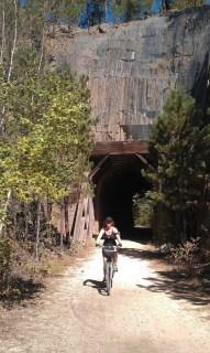 Dachia on bike ride