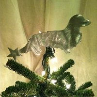 A Dachshund Christmas Tree Topper for a Wiener-ful Holiday
