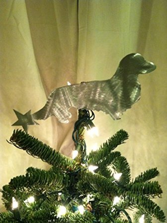 dachshund christmas tree topper