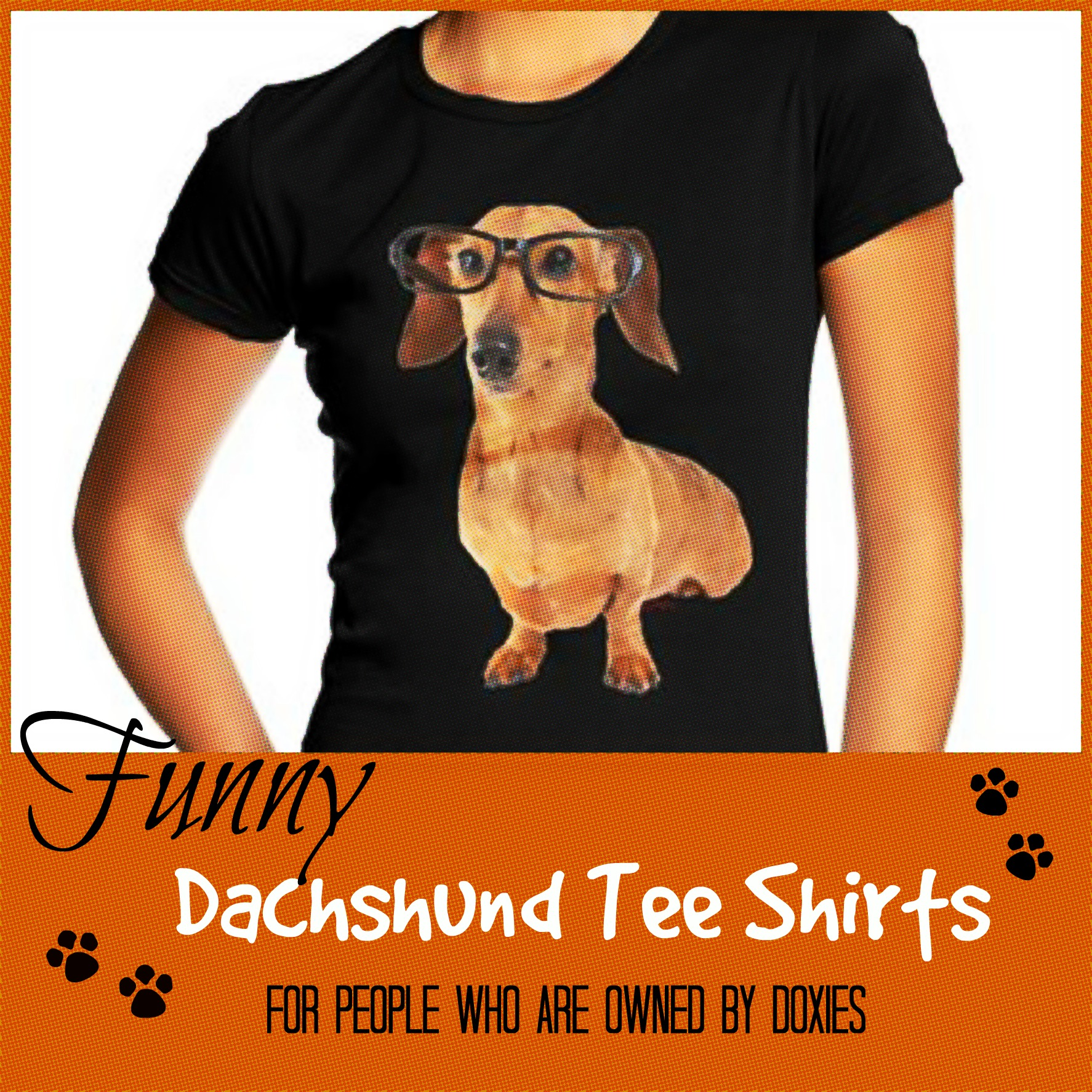 86cdbfc9b Funny Dachshund Tee Shirts for Those who are Owned by Doxies