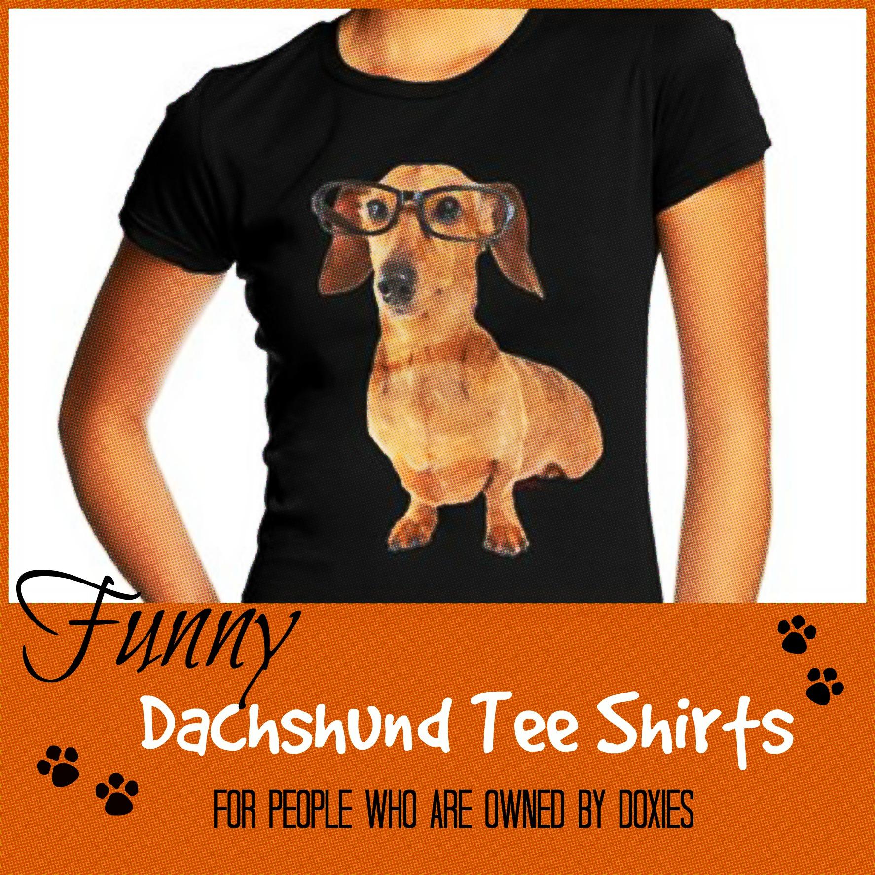 dachshund t shirts gifts