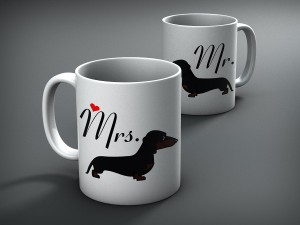 dachshund mugs cups