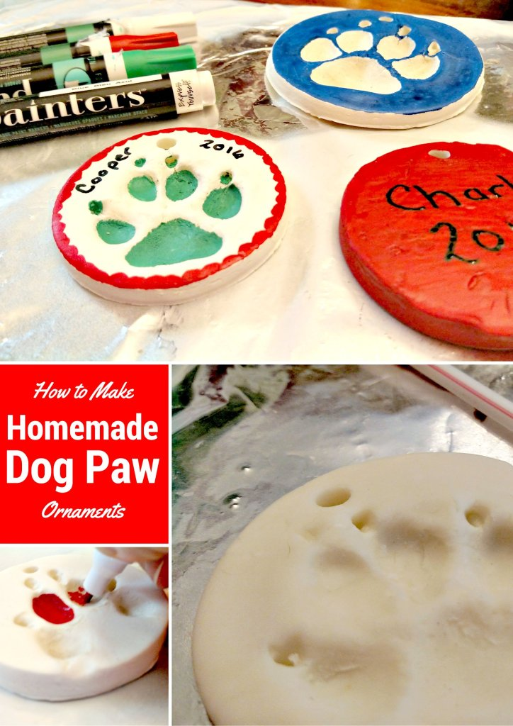 How to Make a Homemade Dog Paw Ornament