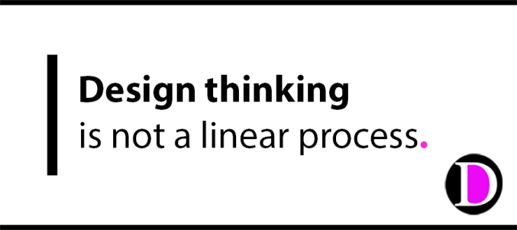 design thinking is not a linear process