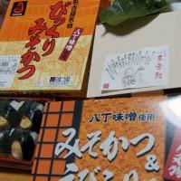 名古屋名物駅弁は味噌カツとエビフリャー