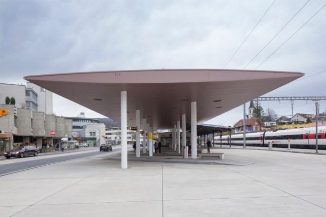 Busbahnhof Laufen, Laufen BL (Suisse)