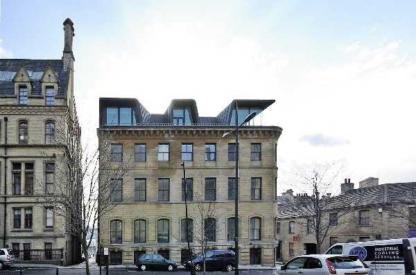 Apartment building, Hanover House, Bradford (UK)
