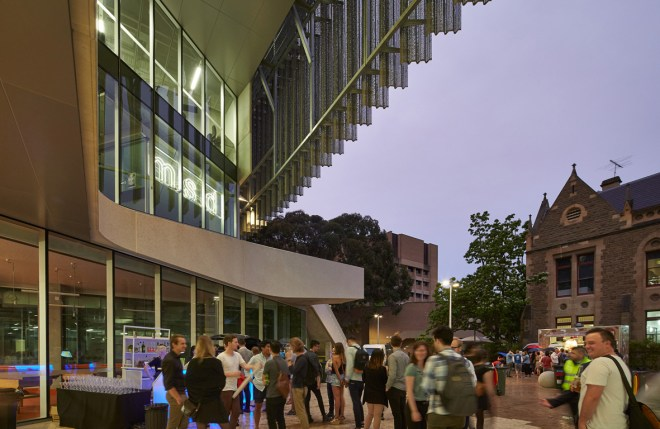 Melbourne University Faculty of Architecture Building, Victoria (Australia)